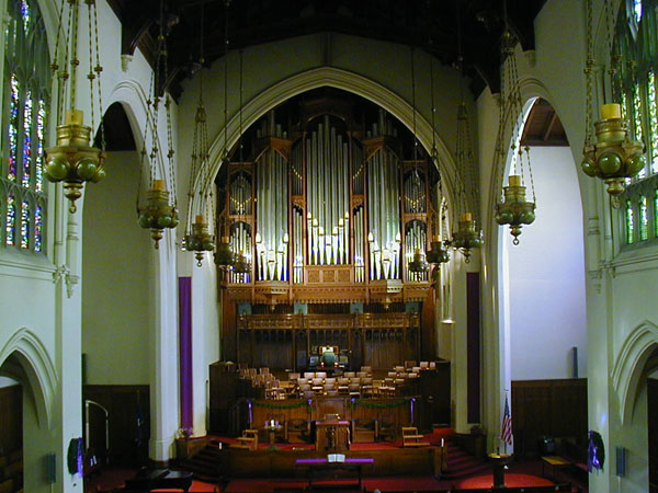Opus 16 - The First Presbyterian Church of Oakland, Oakland, CA